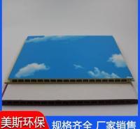 竹木纤维板 阻燃天花吊顶护墙板 天花吊顶护墙板施工效率高