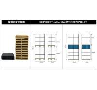 宁波港集隆包装进口高强牛卡纸滑托盘港集隆品牌 牛皮纸滑拖盘图片